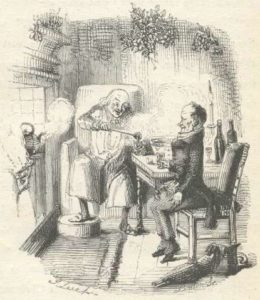 Scrooge and Cratchit / A Christmas Carol