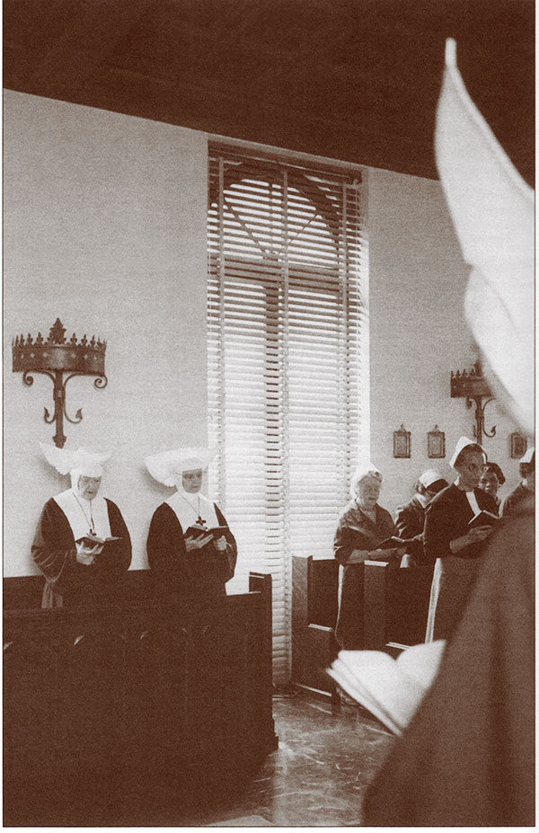 The Sisters of St. Mary and guests in the chapel